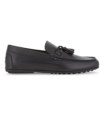 ALDO Freinia leather loafers (Black+leather