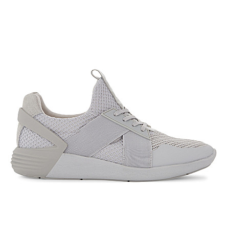 ALDO Jed mid-top trainers (Grey