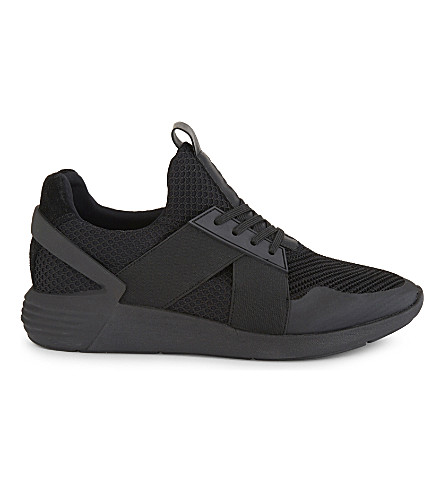 ALDO Jed mid-top trainers (Black