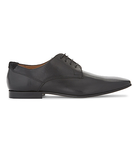 ALDO Darrel leather Derby shoes (Black+leather