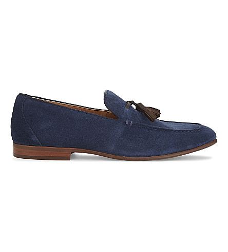 ALDO Wyanet suede loafers (Navy