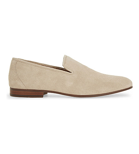 ALDO Areawen leather loafers (Camel