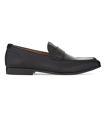 ALDO Almanzor leather loafers (Black+leather