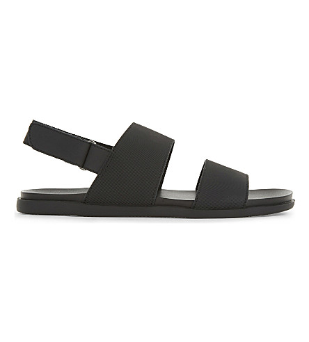 ALDO Badgley leather sandals (Black+leather