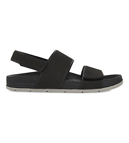ALDO Brawen sandals (Black+leather