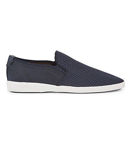 ALDO Alberic low-top trainers (Navy
