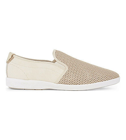 ALDO Alberic low-top trainers (Bone