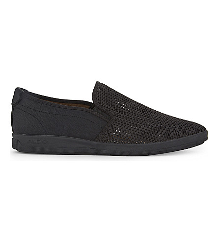 ALDO Alberic low-top trainers (Black