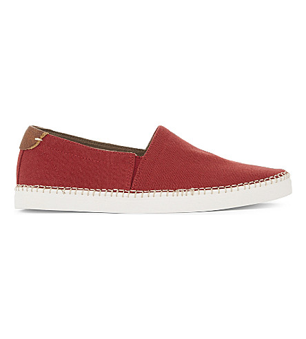 ALDO Friard leather espadrilles (Red