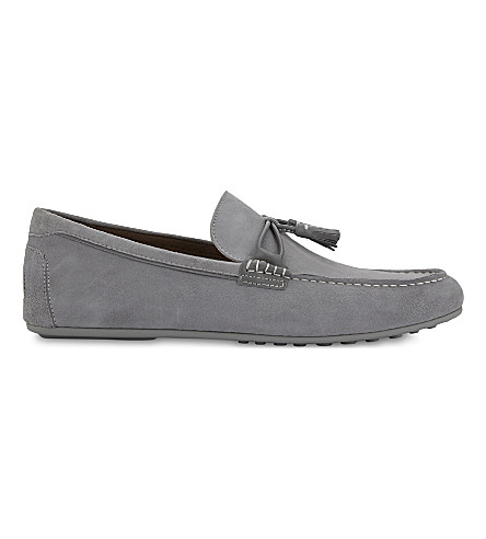 ALDO Lovewien suede loafers (Grey