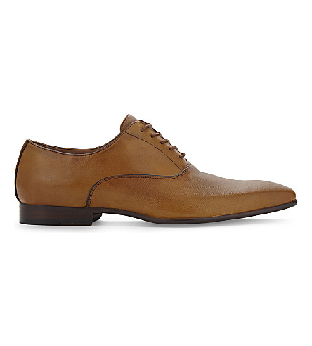 ALDO Craosa-R leather Oxford shoes (Light+brown