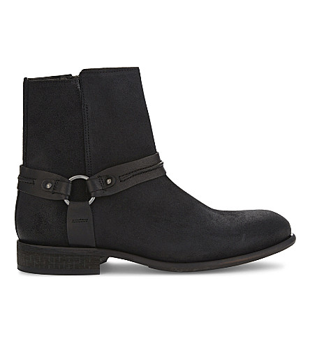 ALDO Asuwen leather boots (Black+leather