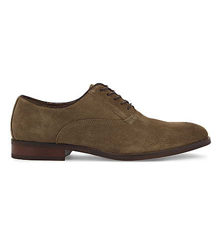 ALDO Eloie suede Oxford shoes (Taupe
