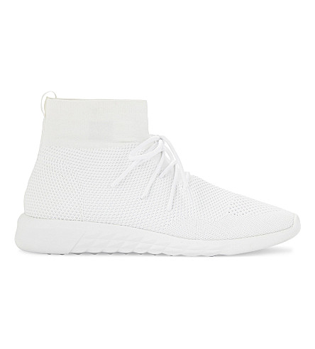 ALDO Jullien high top trainers (White