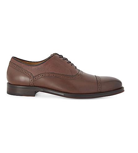 ALDO Galoenia leather oxford shoes (Cognac