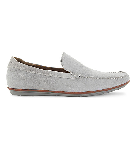 ALDO Kedigoni suede loafers (Grey
