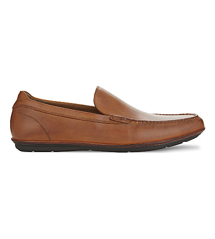 ALDO Kedigoni leather loafers (Cognac