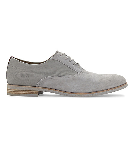 ALDO Elerasen suede Oxford shoes (Grey