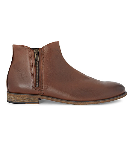 ALDO Frake leather Chelsea boots (Cognac