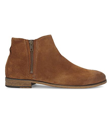 ALDO Frake suede Chelsea boots (Rust
