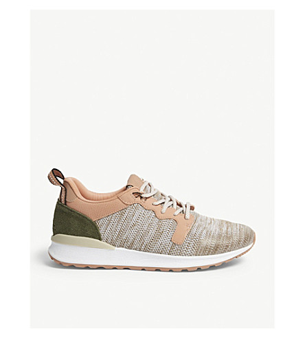 ALDO Greiman stretch-knit trainers (Pink+miscellaneous