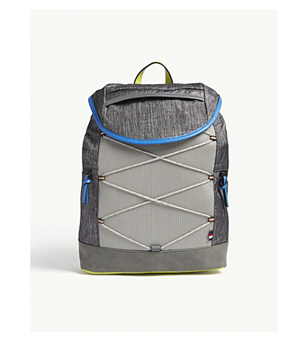ALDO Ulelilian mesh-panelled shell backpack (Medium+grey