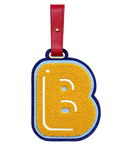 CHAOS B luggage tag (Yellow