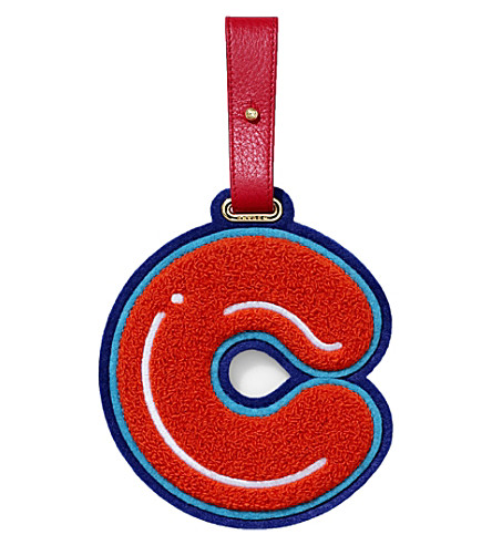 CHAOS C luggage tag (Red