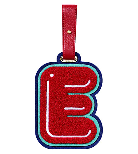 CHAOS E luggage tag (Red