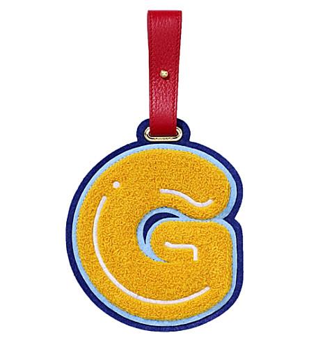 CHAOS G luggage tag (Yellow