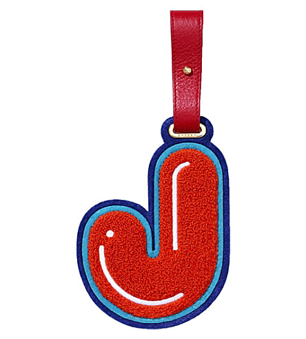 CHAOS J luggage tag (Red