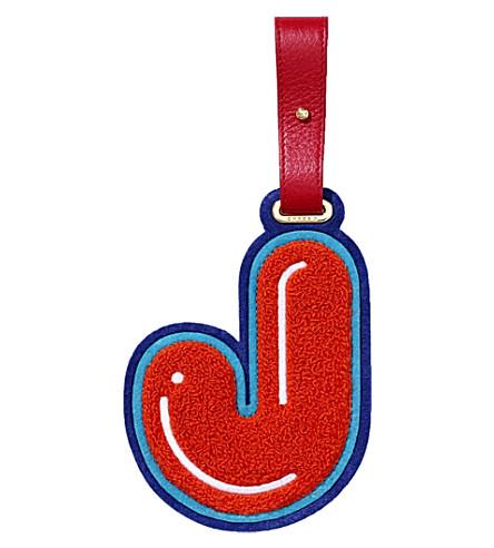 CHAOSJ 行李标签 (红色