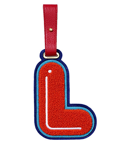 CHAOS L luggage tag (Red
