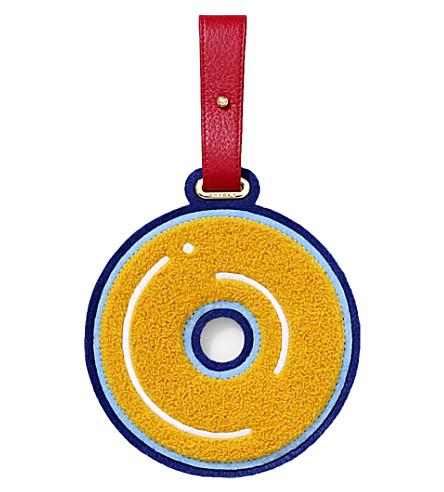 CHAOS O luggage tag (Yellow