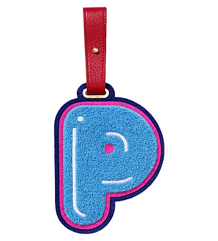 CHAOS P luggage tag (Light+blue