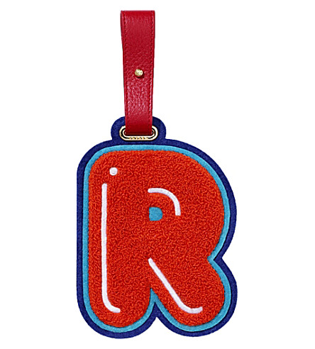 CHAOS R luggage tag (Red