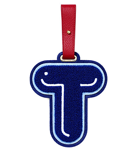 CHAOS T luggage tag (Blue