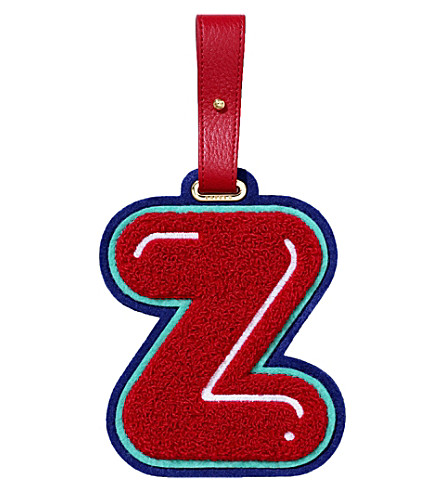 CHAOS Z luggage tag (Red