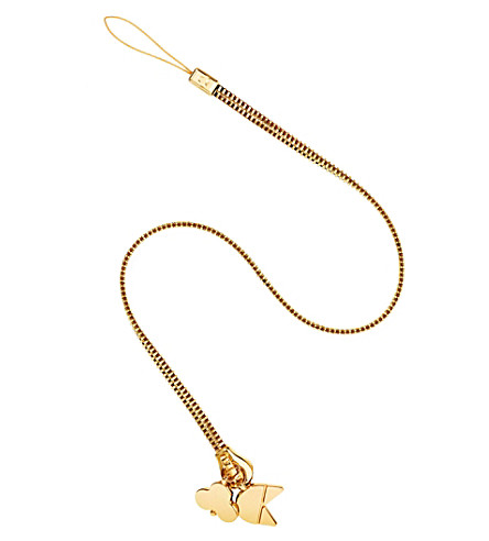 CHAOS Gold-plated zip lanyard (Gold