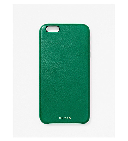 CHAOS Leather iPhone 6+ case (Green