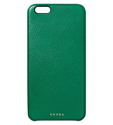 CHAOS真皮 iPhone 7 案例 (绿色