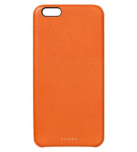 CHAOS真皮 iPhone 7 案例 (橙色