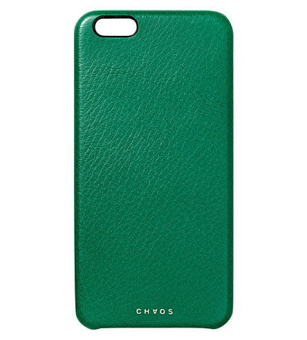 CHAOS Leather iPhone 7+ case (Green