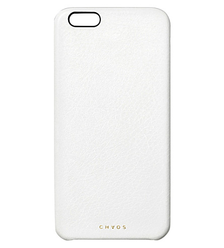 CHAOS Leather iPhone 7+ case (White