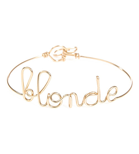 ATELIER PAULIN Words of the Moment Blonde gold bracelets (Yellow gold