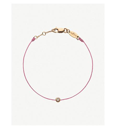 THE ALKEMISTRY Redline Minimaliste Child 18ct rose-gold diamond bracelet 4-7 years (Rose+gold