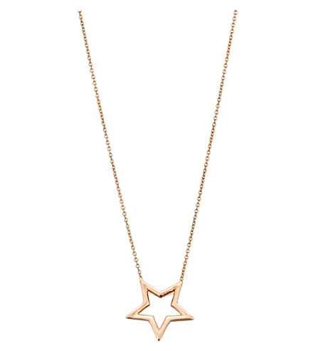 THE ALKEMISTRY Kismet by Milka 14ct rose-gold necklace (Rose+gold