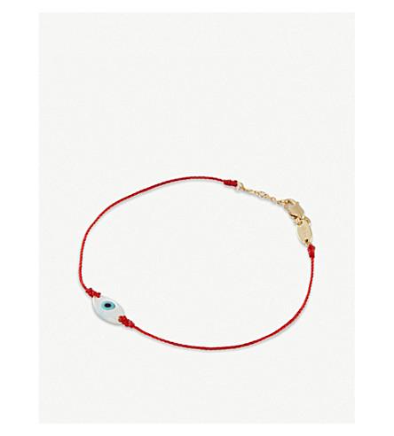 THE ALKEMISTRY Redline Ainara 18ct yellow-gold string bracelet (Yellow+gold