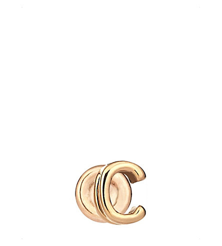 THE ALKEMISTRY Kismet by Milka C 14ct rose-gold earring (Rose+gold
