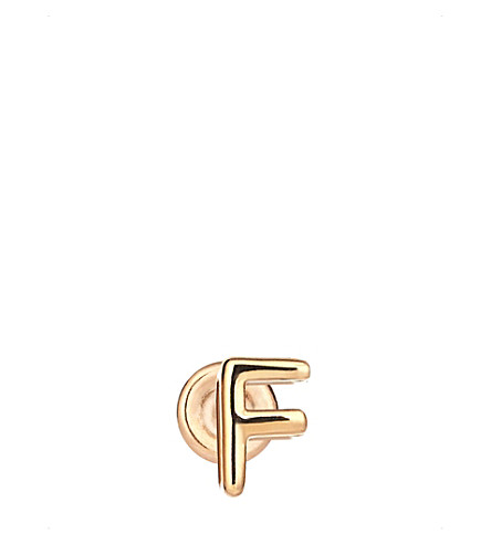 THE ALKEMISTRY Kismet by Milka F 14ct rose-gold earring (Rose+gold